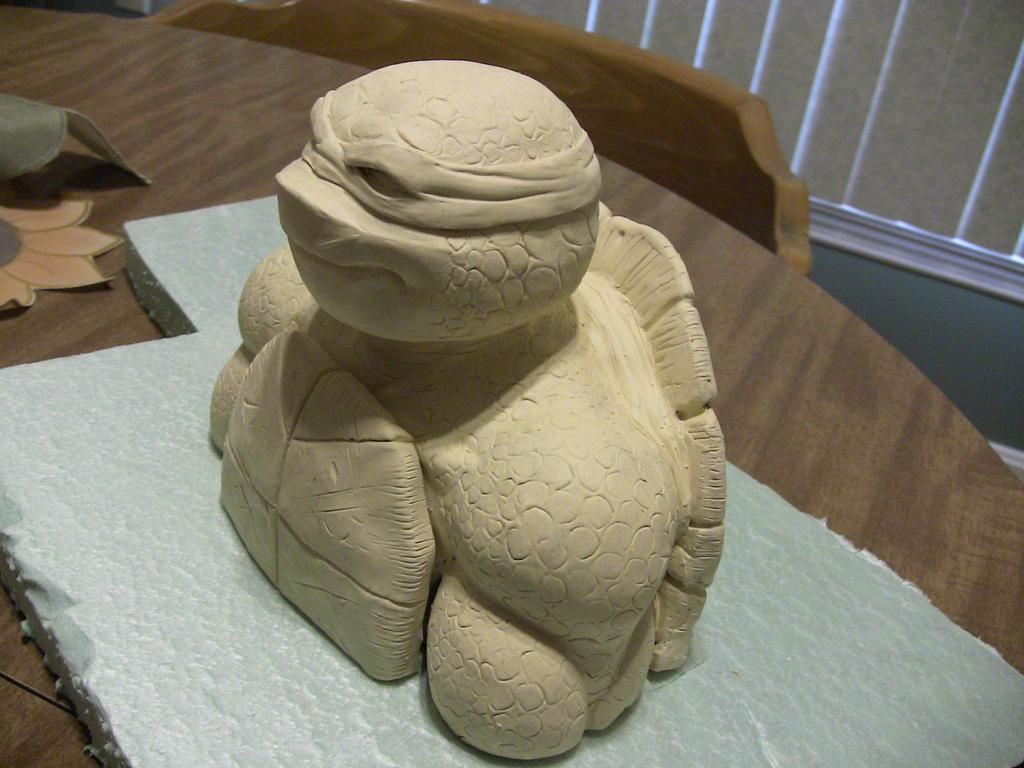 Raphael mini bust by Ninja-Turtles