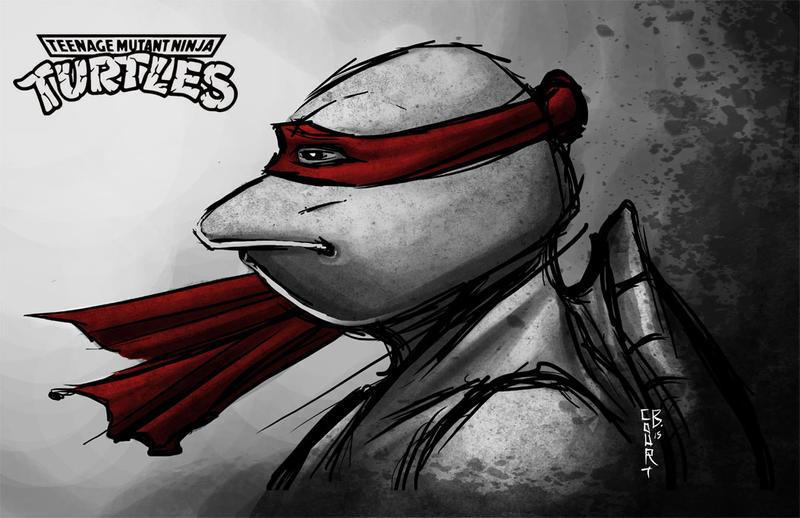 1990 Raph sketch by Ninja-Turtles