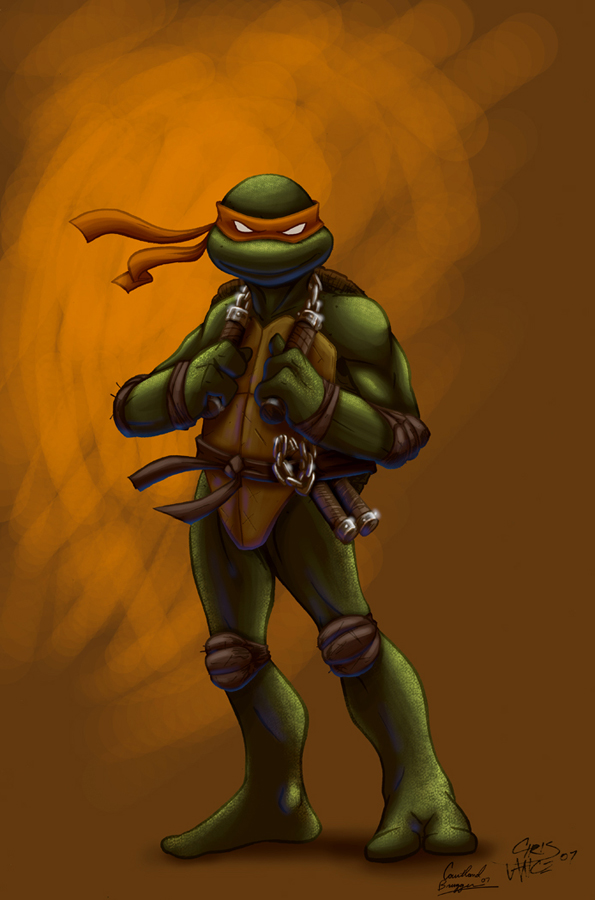 comicninja's Mikey by Ninja-Turtles