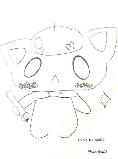Neko Mangaka by Moemiku01