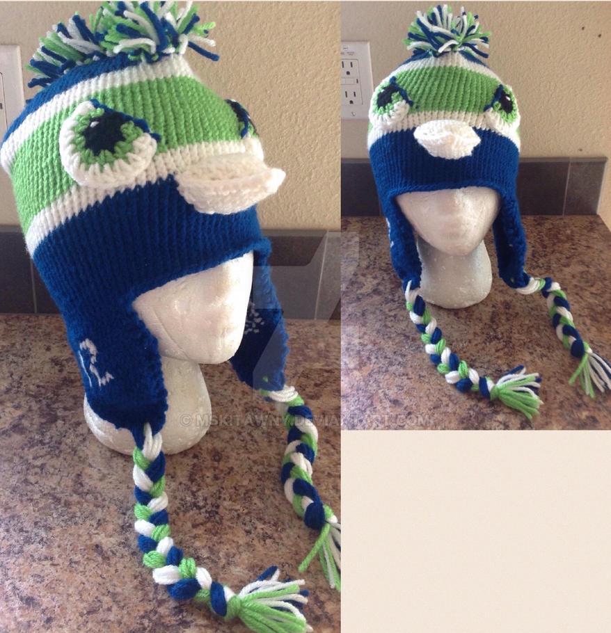 Seahawks Hat By Mskitawny On Deviantart