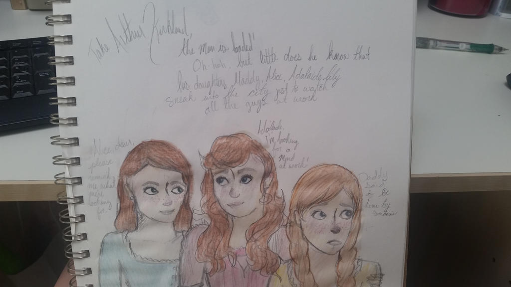 The Kirkland Sisters by SayuriChou
