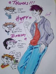 Happy Birthday, Thomas Sanders :D