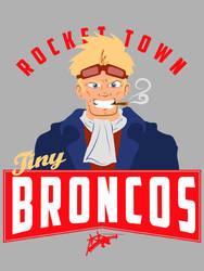 Tiny Broncos by machmigo