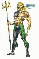 Aquaman (tribal) by kiborgalexic