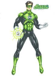 Green lantern - Hal Jordan by kiborgalexic