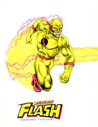 Reverse Flash - Eobard Thawne by kiborgalexic