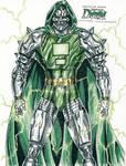 Vibranium armor Dr. Doom