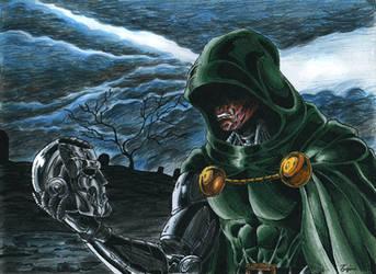 Doctor Doom by kiborgalexic