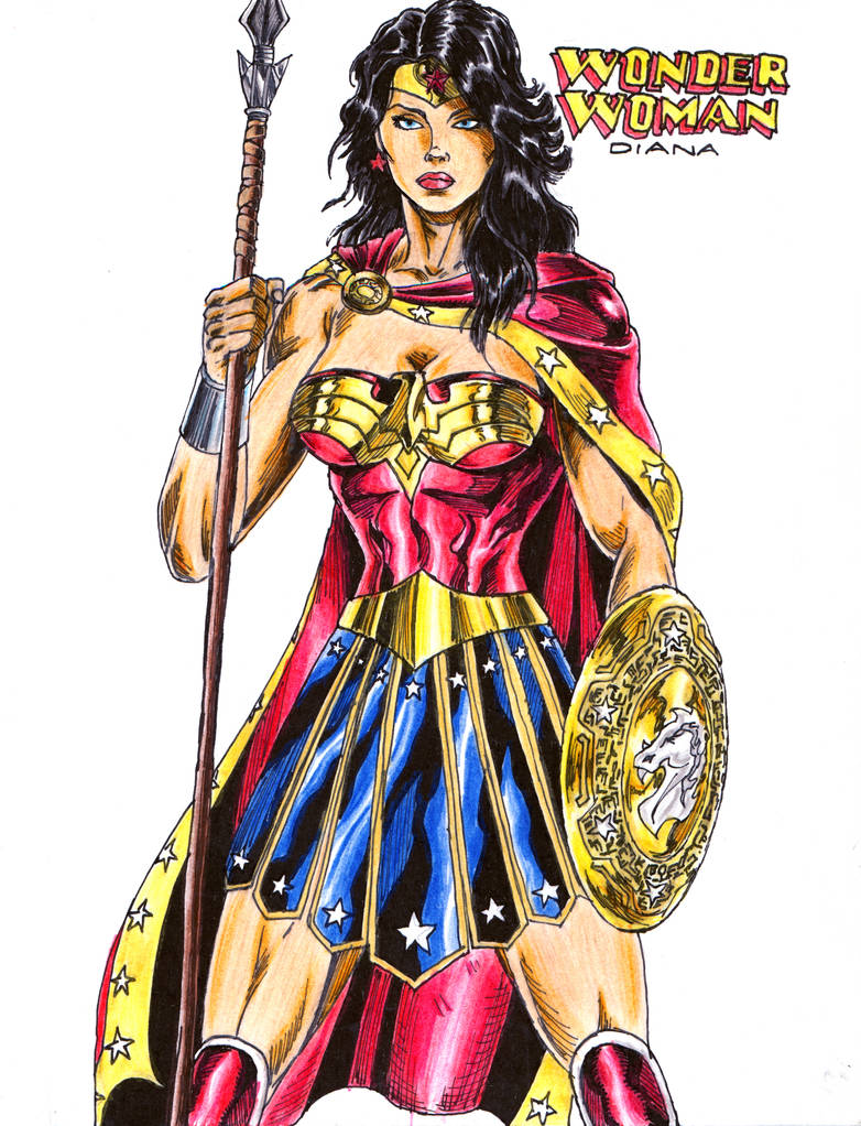 Wonder Woman Amazon