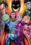 Doctor Strange colored