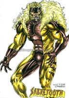 Sabretooth by kiborgalexic