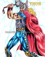 Rune Thor by kiborgalexic