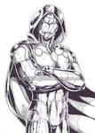 Infamous Iron Man ink