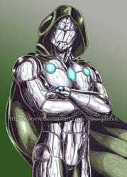 Infamous Iron Man color by kiborgalexic