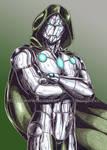 Infamous Iron Man color