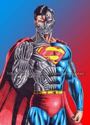 Cyborg Superman by kiborgalexic