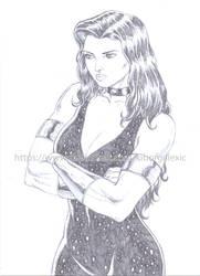 Donna Troy pencil