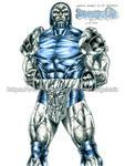 Darkseid MKvsDC by kiborgalexic