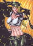 Sonya Blade by kiborgalexic