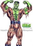 Professor Hulk by kiborgalexic