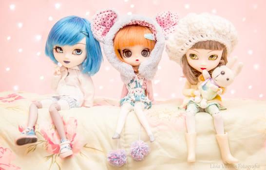Melanie, Evie and Windie