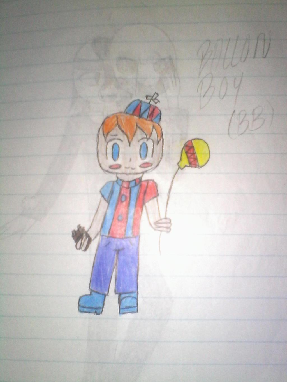 Balloon boy by Illiterate-Swine