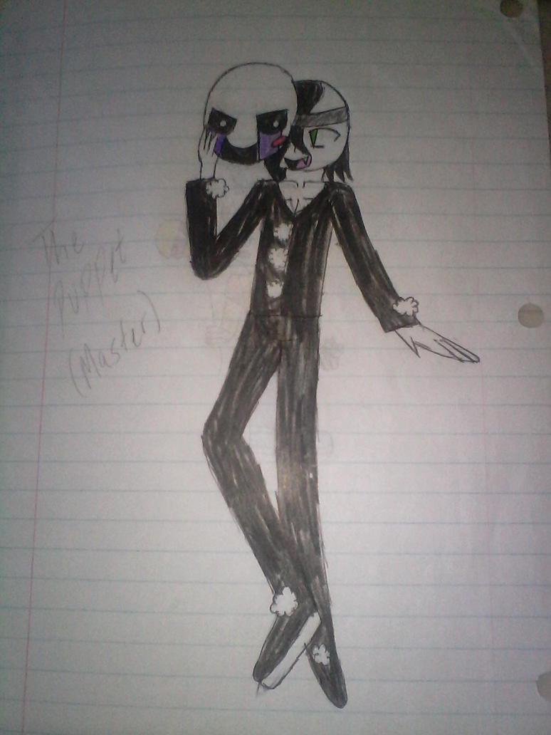 The Marionette (Fnaf) by Illiterate-Swine