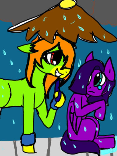 I'll keep you dry by Illiterate-Swine
