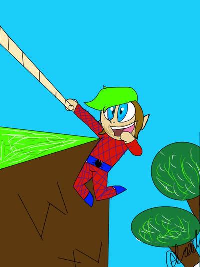 Windlands Spider-Man  by Illiterate-Swine