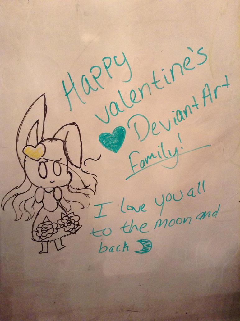 Happy Valentine's everyone by Illiterate-Swine