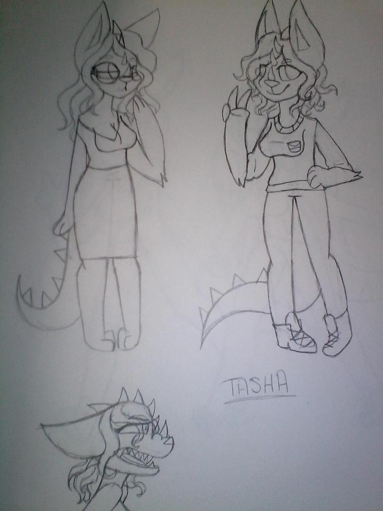 Tasha by Illiterate-Swine