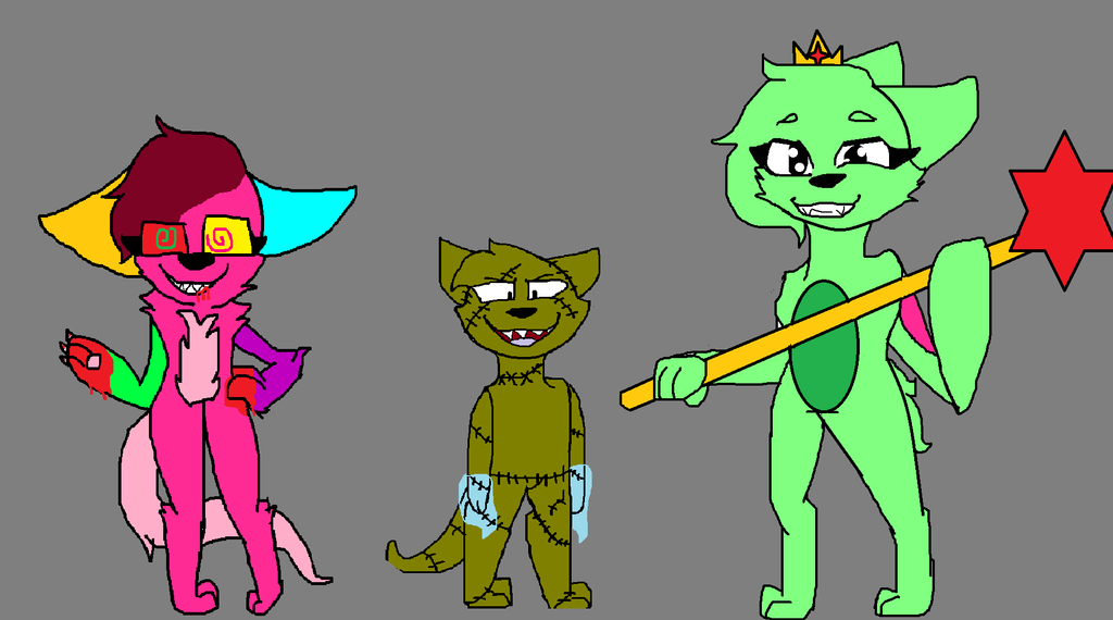 :Art trade: Murder, Curses and Royality by Illiterate-Swine