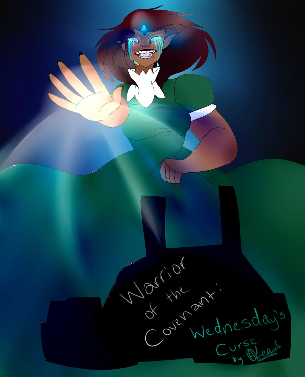 WOC Chapter 1 Cover: Wednesday's curse by Illiterate-Swine