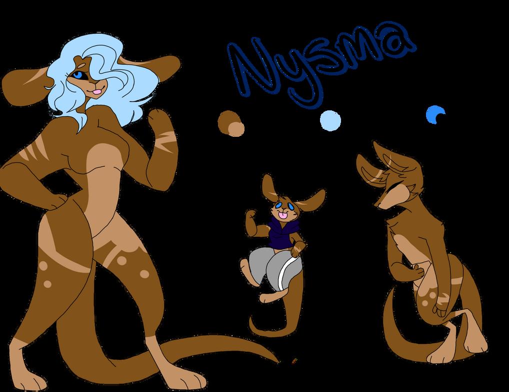 Nysma ref by Illiterate-Swine