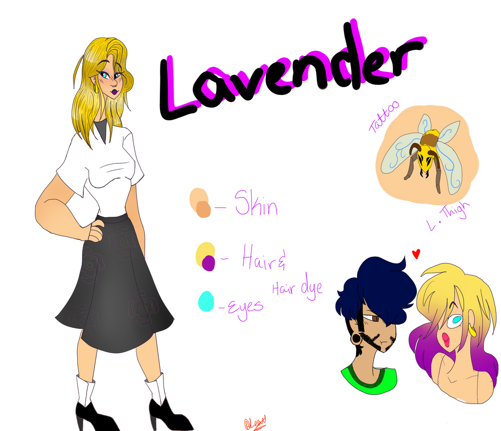 Lavender ref by Illiterate-Swine