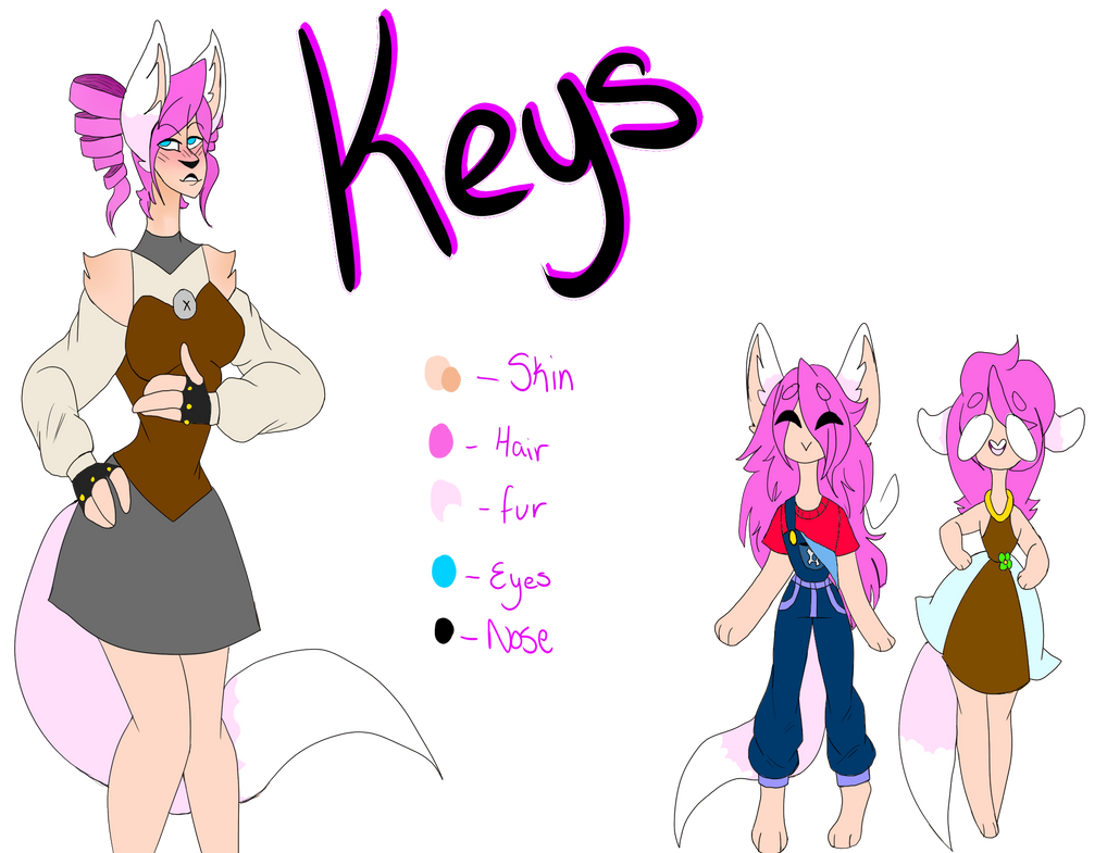 Keys ref  by Illiterate-Swine