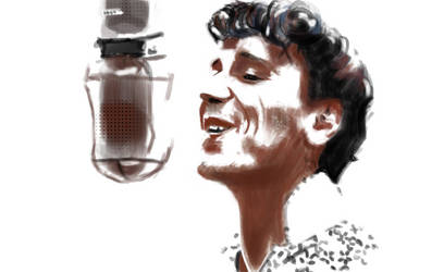 Gene Vincent by W1nning