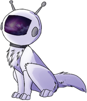 Space Canine Freebie (updated) by 50-shades-0f-Red