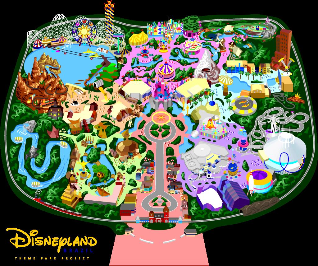 My Disneyland By Mrzahta On DeviantArt - Disneyland brazil map