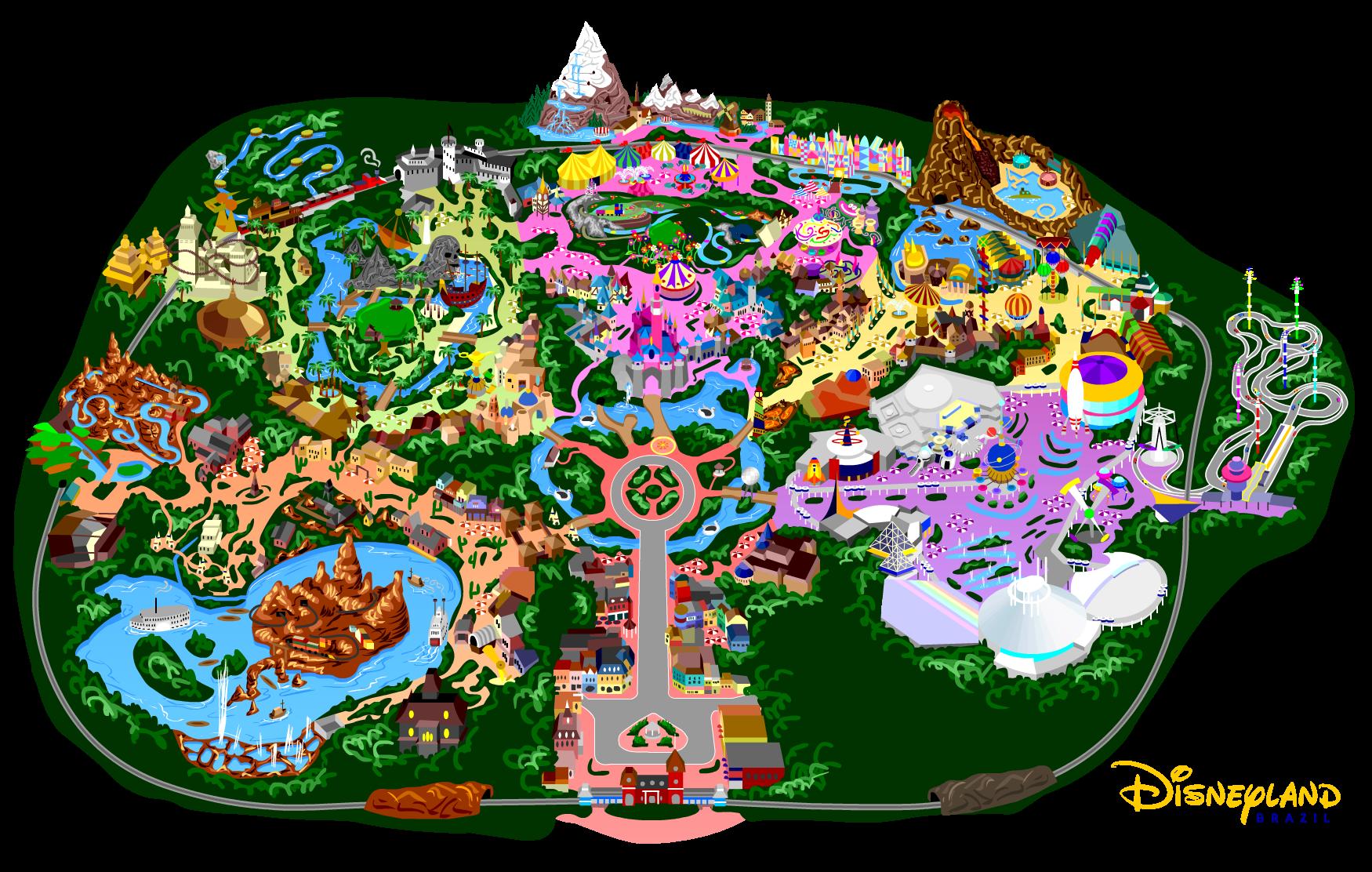 Disneyland 7.0 by mrzahta on DeviantArt on