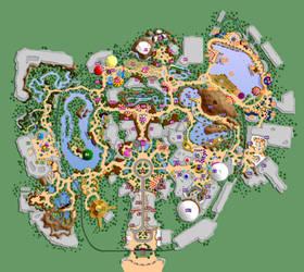 Disneyland X.1 - List of Attractions by mrzahta