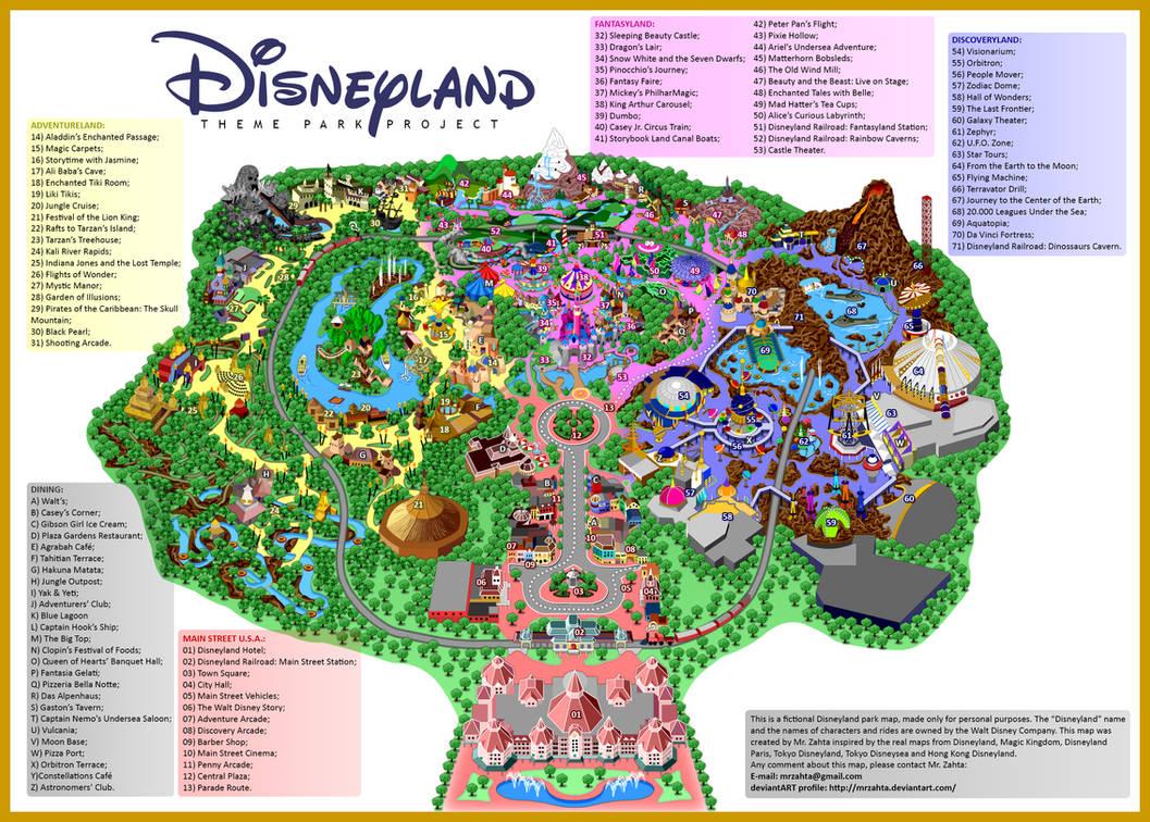 Disneyland 13 3 By Mrzahta On Deviantart