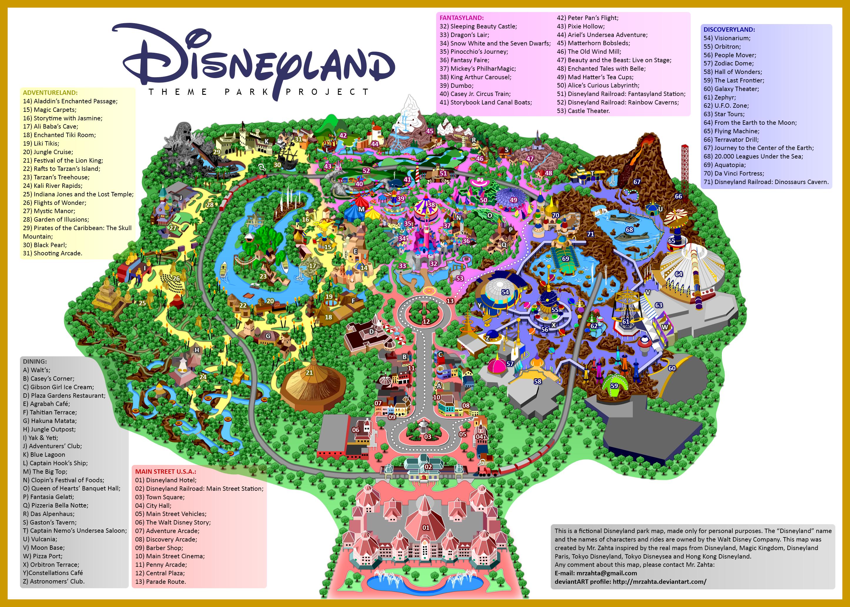 Art Calendar Hong Kong : Disneyland by mrzahta on deviantart