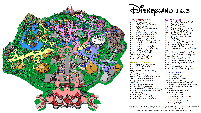 Disneyland 16 By Mrzahta On Deviantart