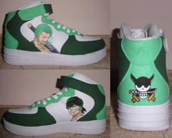 One Piece Shoes #3: Zoro