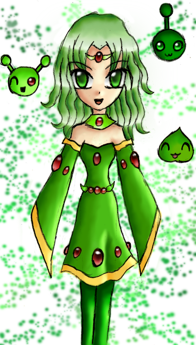 Green Mage Green Mage and her squ...