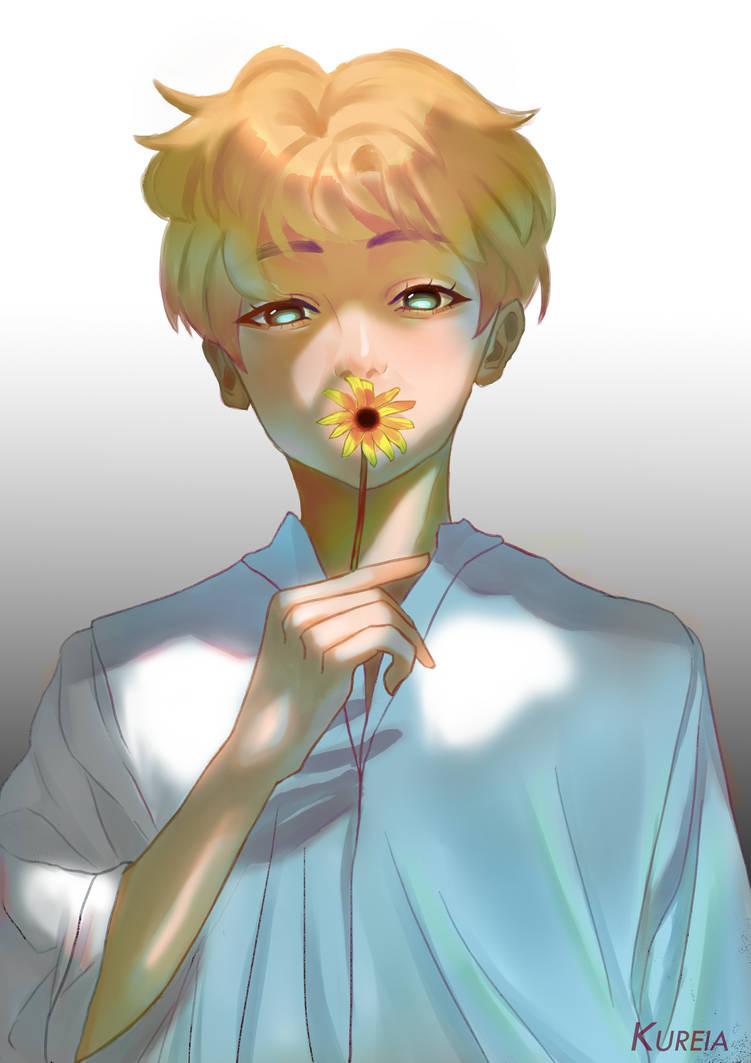RM @BTS art | Bts chibi, Bts-hintergrundbild und Bts |Namjoon Bts Anime