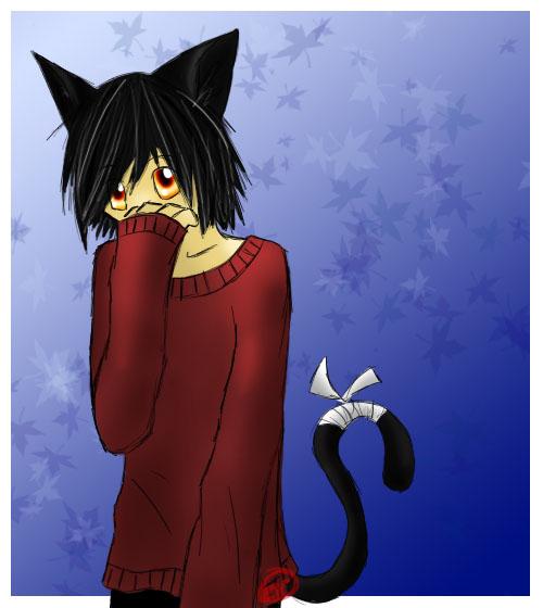 Black Cat Boy by Ziconia