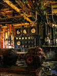 Filtration room urbex by XpiecemealX